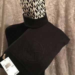 Michael Kors beanie and scarf